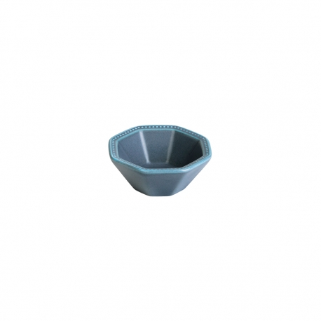 Bowl Octogonal 7cm Gris Oscuro Geometric Lugano
