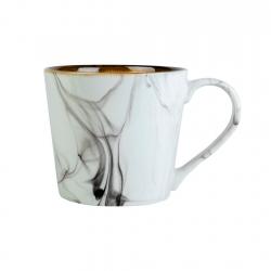 Mug 330ml White Marble Contour
