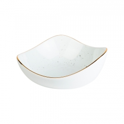 Bowl Triangular 15cm Blanco...