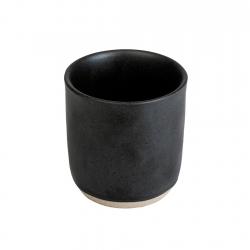 Vaso 210cc Black Rustic Banket