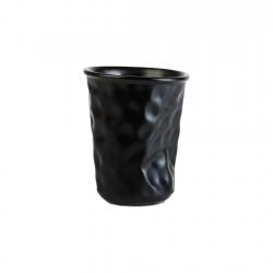 Vaso 8cm Black Mate...