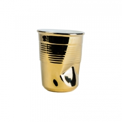Vaso 8cm Gold Pressed Look...