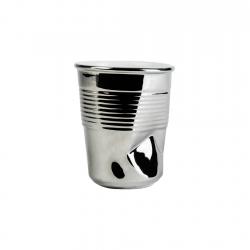 Vaso 8cm Silver Pressed...