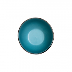 Bowl 15cm Blue Metallic Lugano