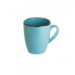 Mug 340ml Blue Metallic Lugano