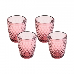 Set 4 Vasos Bajo 190ml...