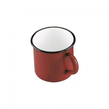 Tazón 40cl Acero Esmaltado Rojo Ibili