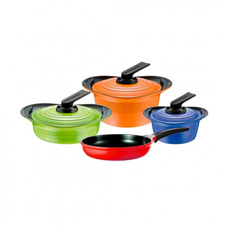 Batería 7pzs Colores Premium Roichen