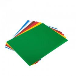 Set 6 Tablas Flexibles Colores 38x50cm Winco