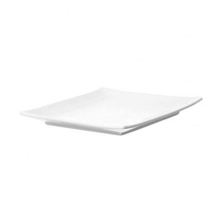 Plato Cuadrado 20cm Sushi Plain Banket