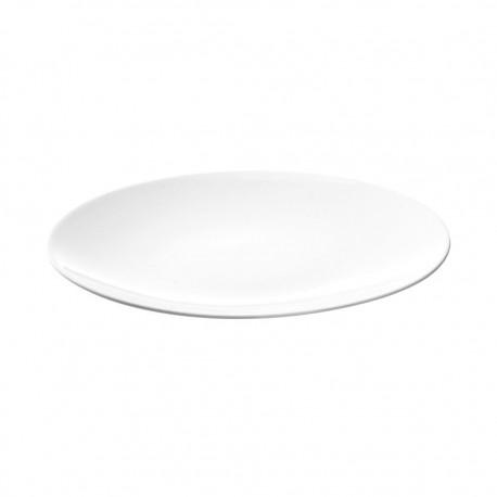 Plato Ovalado 23cm Super White Style Ariane