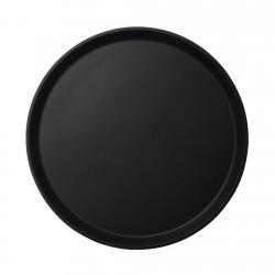 Bandeja Redonda Ant 35.5cm 1400Ct Negra Cambro