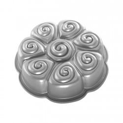 Molde Cinamon Pull Apart Aluminio Fundido Nordic Ware