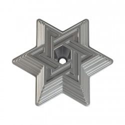 Molde Star Of David 10 Tazas Aluminio Fundido Nordic Ware