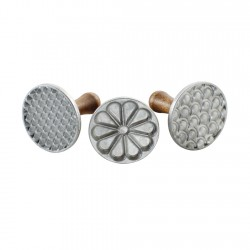 Set 3 Marcadores de Galletas Aluminio Fundido (01235) Nordic Ware