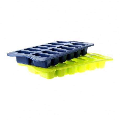Set 2 Cubetas Hielo Silicona 870600 Ibili